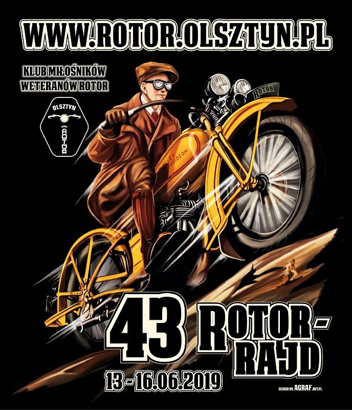 43 Rotor Rajd, 13-16 czerwca 2019 roku